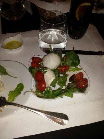 JK Place Firenze : My caprese salad -- amazing!!