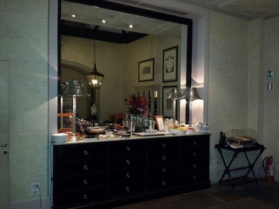JK Place Firenze : Breakfast served daily -- always delish.
