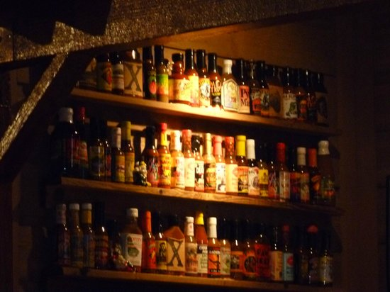 Bubba Gump Shrimp Co. Restaurant and Market: Nice rack!!