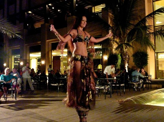 Hilton Ras Al Khaimah Resort & Spa : Leider nur an einem Abend beim Abendessen. War sehr wunderbar.