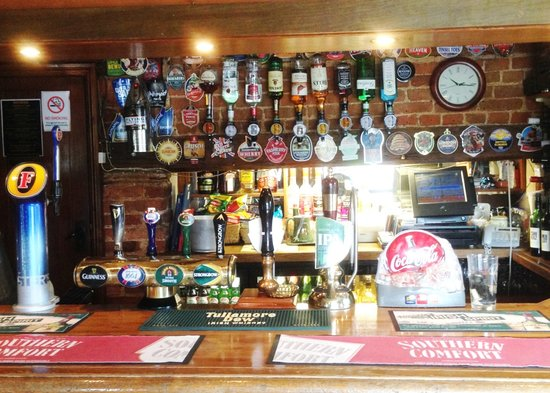 Great Stukeley, UK: Bar