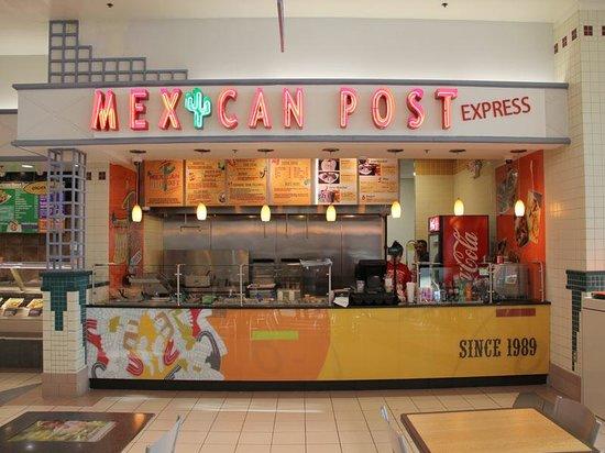 Mexican Post Bensalem: Outer Restaurant
