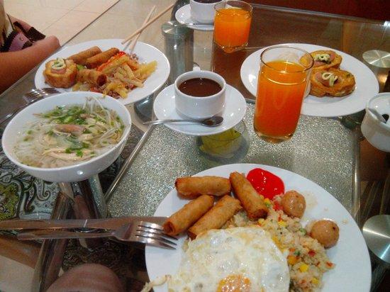 City Star Hotel: Завтрак в отеле