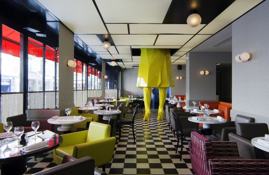 Cafe Germain: salle principale