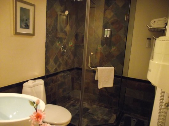 88 Park Hotel: Prachtige badkamer
