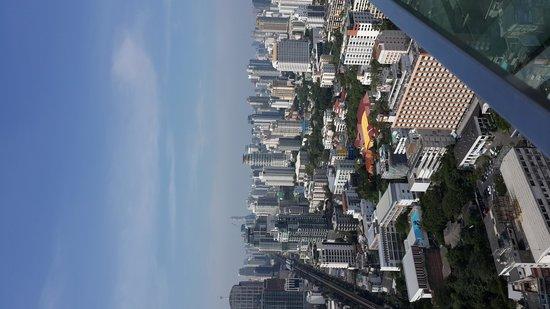 Bangkok Marriott Hotel Sukhumvit: A view of Bangkok from the 49th floor of Marriot Hotel