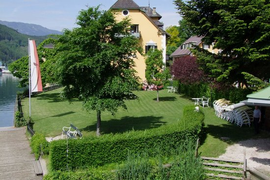 Hotel Restaurant See-Villa: Liegewiese