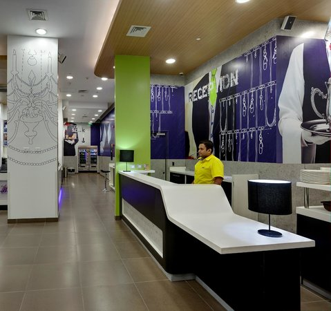 Hotel Formule1 Pune Hinjewadi: Reception