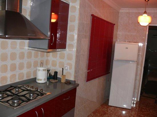 Hospederia Sol Castilla : cocina equipada con absolutamente todo