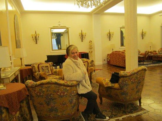 Quisisana Hotel Terme : sala bar e ballo,