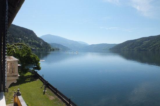 Hotel Restaurant See-Villa: Blick auf dem See vom Haupthaus