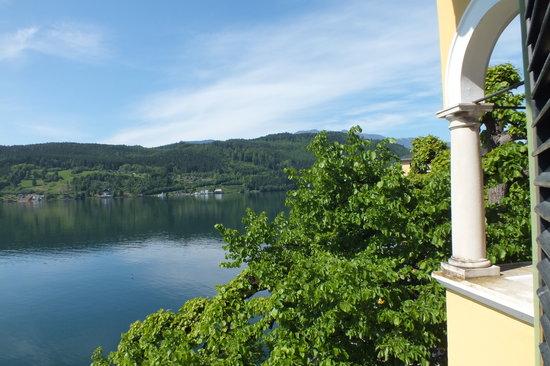 Hotel Restaurant See-Villa: Blick aus dem haupthaus vom 1 Stock der See-Villa