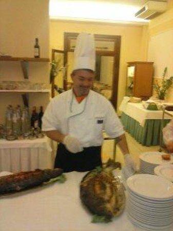 Hotel Terme Vena D'Oro: Il nostro Chef