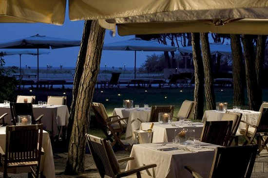 Hotel Bellevue & Resort : Cena a lume di candela
