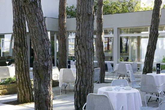 Hotel Bellevue & Resort : Terrazza esterna