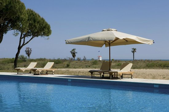 Hotel Resort Bellevue: Panorama dalla piscina