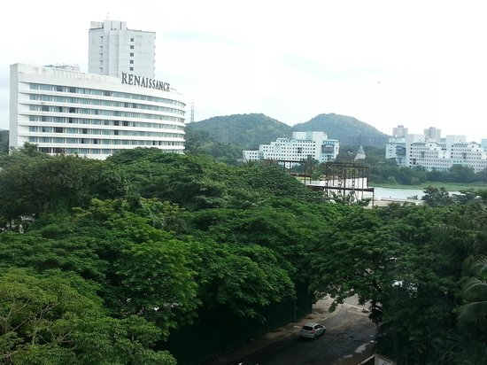 Lakeside Chalet, Mumbai - Marriott Executive Apartments: View from my Apartment