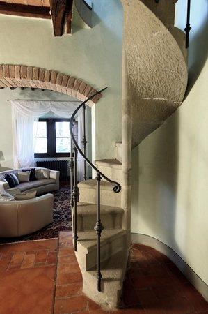 Villa Poggio Bartoli: Uno scorcio della Tower Suite