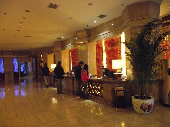 New Jiu Zhai Hotel: Receptie