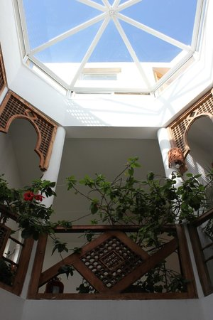 Dar Liouba: The elegant stairwell