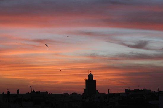 Dar Liouba: Sunset from the terrace - bliss!