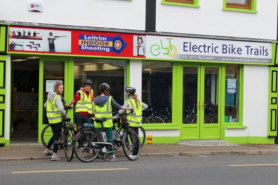 ‪‪Leitrim‬, أيرلندا: Electric Bike Trails Premises, Leitrim Village‬