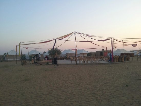 Hotel Akashdeep : The view of tent stay
