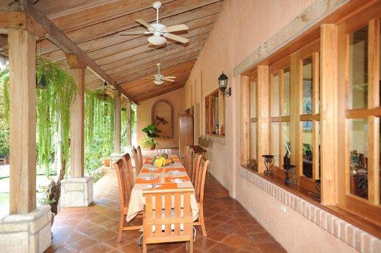 La Villa de Soledad B&B: Salon comedor
