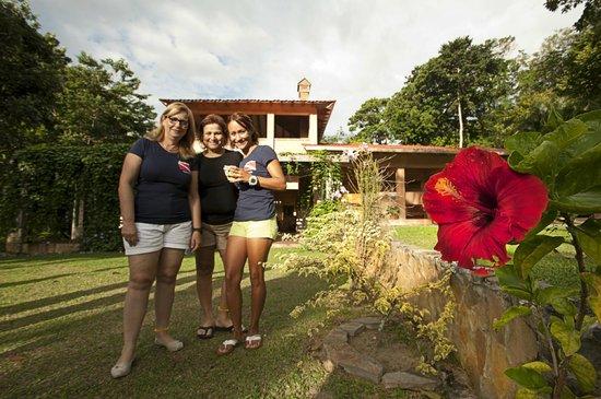 La Villa de Soledad B&B: Sus jardines y flores
