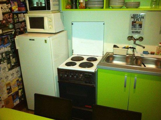 Hostel Budapest Center : Cucina