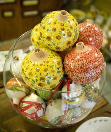 Materia Ceramica: palle decorative
