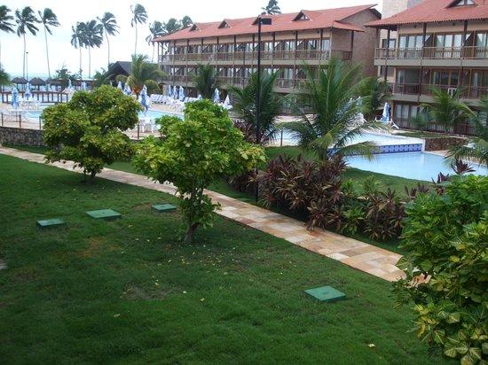 Salinas de Maceio Beach Resort: Vista da sacada da suite 225...