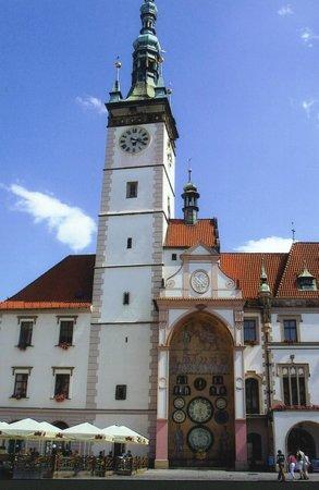 Olomouc, Czech Republic: Relógio astronômico - Olomuc República Tcheca