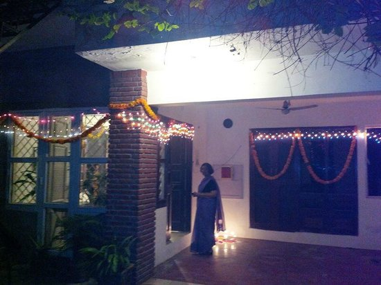 Arcadiia Homestay : Entrance