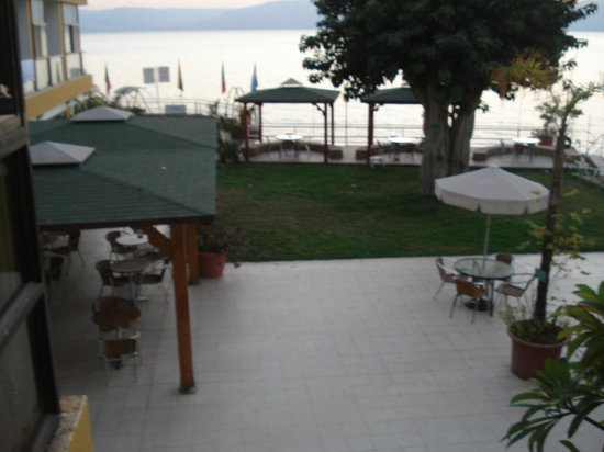 Ron Beach Hotel: Wonderful view of the Sea of Galilee