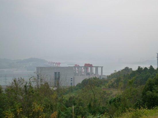 Three Gorges : 三峡ダム全景