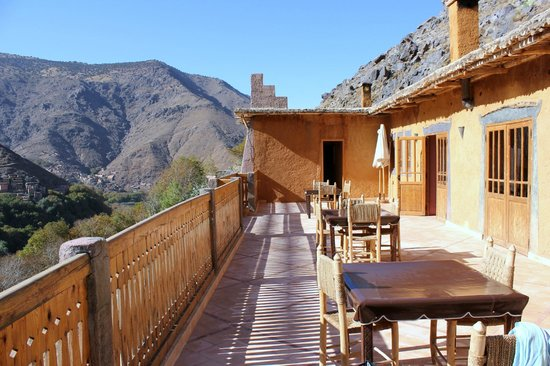 Le Village du Toubkal : Sunny, peaceful terrace