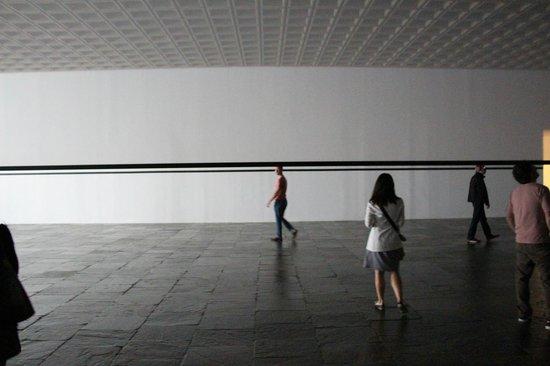 Whitney Museum of American Art: Último nivel. Percpeción e ilusión óptica.