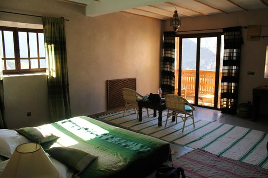 Le Village du Toubkal : Our gorgeous room
