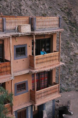 Le Village du Toubkal : Taking in the view from our balcony
