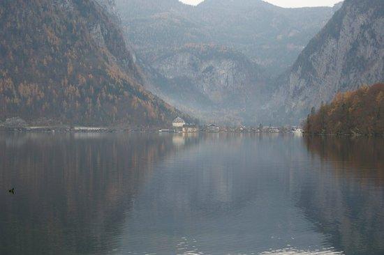 Seehotel am Hallstättersee: Vista do Hallsttater See