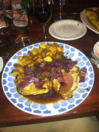 Chez Jacques: Pork lorraine