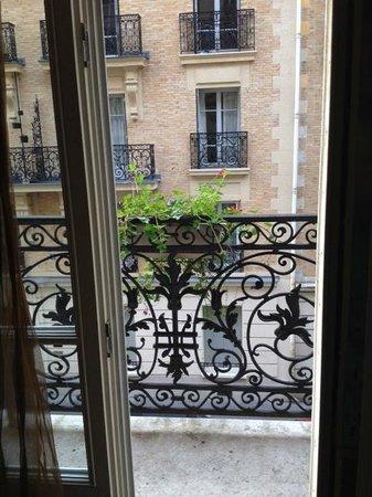 Hotel Palym: Balcony