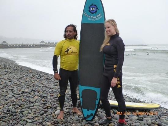 Pukana Surf school: lima pukana surf