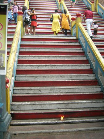 Batu Caves, Malásia: sorry Hindu ladies..