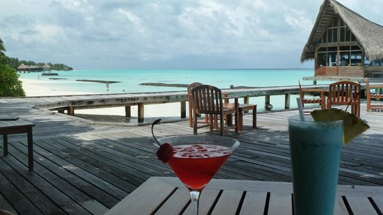 Kuramathi Island Resort : View from the restaurant