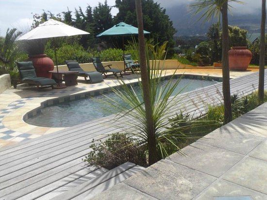 Wild Rose Country Lodge : pool deck area