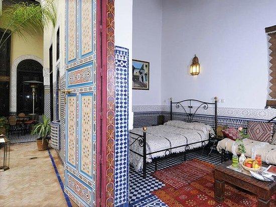 Riad Fes Baraka : Chambre