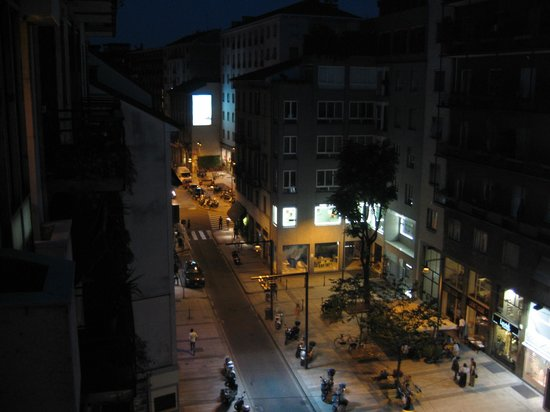 Hotel Ritter : вид с балкона