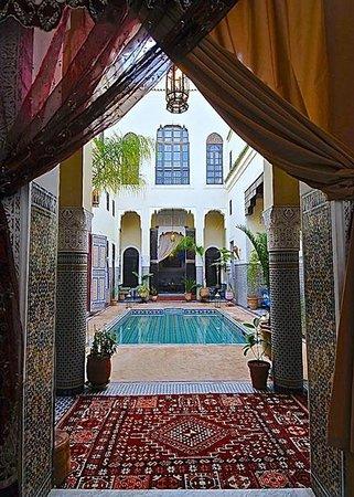 Riad Fes Baraka: Espace piscine